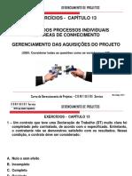 Curso Gerenciamento de Projetos - Novo - 5a Edição - Exercícios Cap. 13pdf