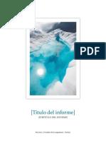 Informe Plantilla Estudiante