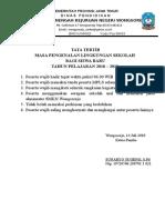 Tata Tertib Dan Kriteria Lulus MPLS
