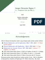 16 Teori Bilangan Elementer Bagian 2