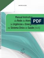 Manual instrutivoda rede de urgencia emergencia