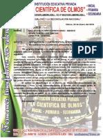 Invitacion Cuarto Festival de Danzas Folklóricas