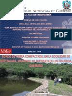 Presentacion Guiovani SEMINARIO 2018 (Bordo de tierra )