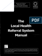 The Local Health Referral System Manual
