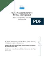 Bibliografia Estendida Política Internacional