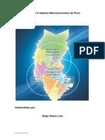 Plan para el desarrollo Macroeconomico de Puno