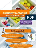 ADMINISTRACIÓN DE  MEDICAMENTOS daniela.pptx