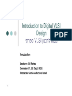 Introduction to Vlsi Design