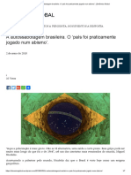 A Autossabotagem Brasileira. O 'País Foi Praticamente Jogado Num Abismo'. _ Dinâmica Global