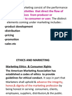 Ethical Issues in Marketing.