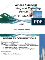 Chapter 14 Business Combinations Part 1