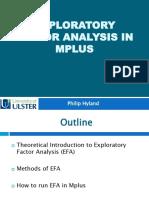2. EFA in Mplus