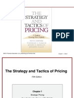 Chapter 1 PRICING STRATEGY & TACTICS