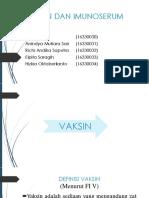 Vaksin Dan Imunoserum