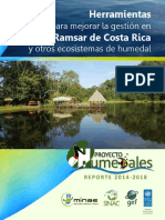 Reporte Final Proyecto Humedales - Costa Rica