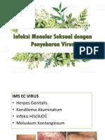 Infeksi Menular Seksual Dengan Penyebaran Virus