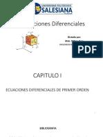 1.5 Ecuaciones Diferenciables Exactas