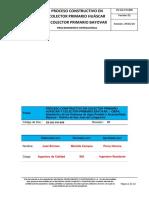 Cb-sig-po-008 Proceso Constructivo en Colector Primario Huáscar y Colector Primario Bayovar