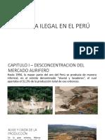 Mineria Ilegal en El Perú Ensayo Transaccion