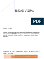 debiliidad visual