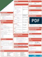 SQL Cheat Sheet Python