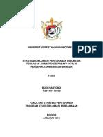 Strategi Diplomasi Pertahanan Indonesia