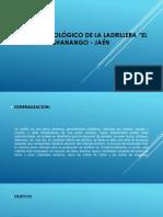 Informe Tecnológico de La Ladrillera - Diapositivas