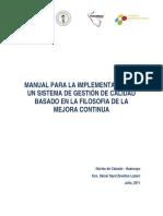 28. Manual de Implementacion Sistema Gestión Calidad