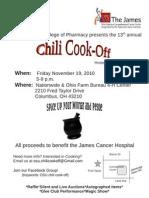 13th Annual Chili Cook-Off
