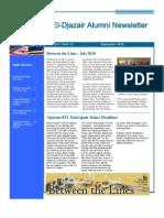 El Djazair Alumni Newsletter - September 2010