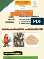 Chia y Quinua