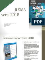 1. E-RAPOR SMA 2018