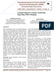 A Research on Enumerating the Customer Satisfaction Regarding Online Shopping in Andhra Pradesh