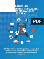 Buku Panduan Pelaksanaan Penelitian Dan Pengabdian Kepada Masyarakat Edisi XII