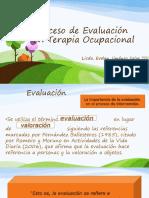 Evaluación en Terapia Ocupacional