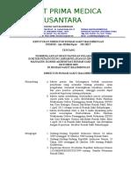 269.SK PEMBERLAKUAN BUKU PANDUAN PELAKSANAAN DPJP DAN CASE MANAGER.doc