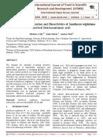Isolation, Characterization and Bioactivities of Sambucus wightiana derived Dotriacontanoic acid