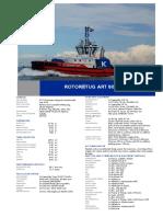 Product Sheet ART Tug 80 32 YN571714 RT Evolution