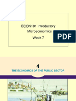 Lec07 Econ101 Economics of the Public Sector