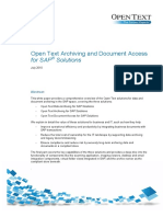 OpenText Archiving and Document Access for SAP Solutions Whitepaper.pdf