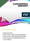 Gastrointestinal Emergency UMY