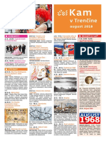 KAM v Trenčíne - august 2018