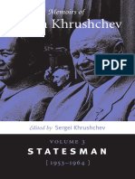 khruschev - memoirs (vol 3)