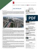 Tăng trưởng GDP và _bong bóng_ bất động sản