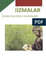 İhsan Fazlıoğlu- Aforizmalar
