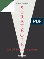 Robert Greene - Stratégie - Les 33 lois de la guerre