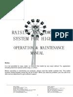 High Mast- Operation & Maintenance Manual