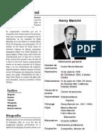 Henry Mancini - Wikipedia, La Enciclopedia Libre