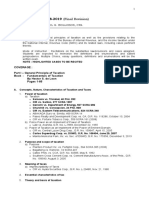 Tax 1 Course Outline 2018-2019 Final Revision