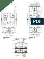 Elegu Staff Houses. Floor Plans